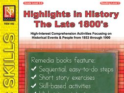 Highlights in History: The Late 1800s