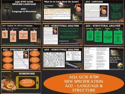 AQA 8700/1 English Language - AO2 - Language & Structure - Hocus Pocus Edition