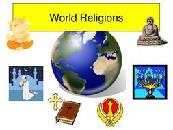 Entire world religion series of lessons for Year 7 and 8 RE.