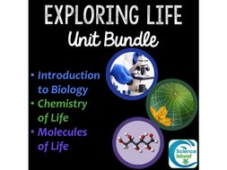 Exploring Life: Introduction to Biology Unit Bundle