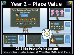 Place Value: Year 2 - Autumn Term - White Rose