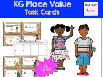 Place Value Task Cards - Year 1