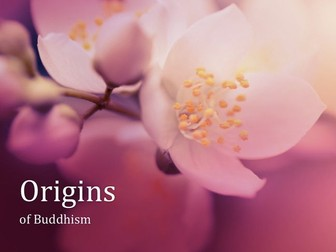 Brief Introduction to the Origins of Buddhism