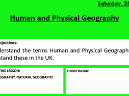 Introduction to Human and Natural Geography