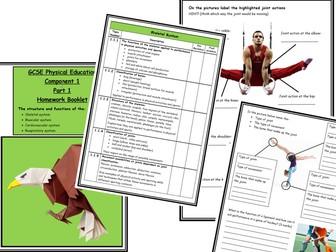 GCSE PE - Edexcel - Component 1 - Homework Booklet - Part 1