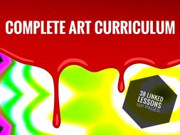 ART. Complete Art Curriculum for Middle School.