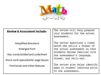 Grade 1, Math Module 5 REVIEW & ASSESSMENT w/Ans keys (printables & Smart Board)