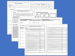 Whole Year Assessment and Monitoring Bundle | EYFS Reception