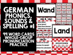 german phonics cards presentation 1 by livelylearning teaching resources. Black Bedroom Furniture Sets. Home Design Ideas