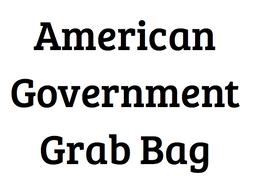 American Government Grab Bag
