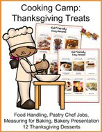 Cooking Camp: Thanksgiving Treats- Cooking for Kids