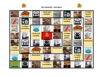 Haus (House in German) Schnecke Snail game