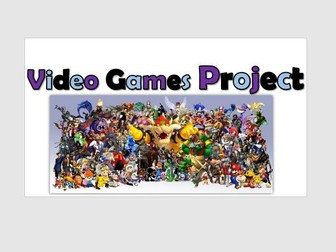 ICT Functional Skills Project 'Video Games'