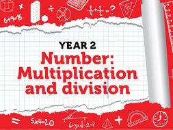Year 2 - Multiplication and Division - Spring - Weeks 1-2