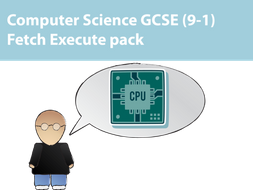 Fetch Execute Cycle Revision Pack for OCR Computer Science