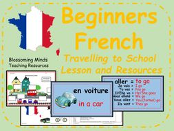 french lesson and resources ks2 travelling to school by blossomingminds teaching resources. Black Bedroom Furniture Sets. Home Design Ideas