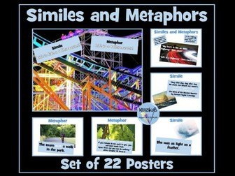 Similes and Metaphors Posters