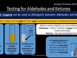 NEW AQA Yr2 Aldehydes and Ketones Revision