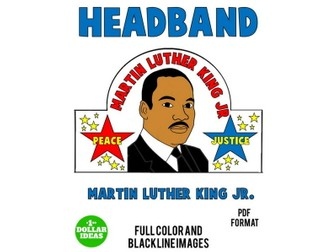 MARTIN LUTHER KING JR. ACTIVITIES | HEADBAND | MLK MARTIN LUTHER KING JR. ACTIVITIES | HEADBAND | ML