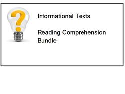 Informational Texts - Reading Comprehension Worksheets - Bundle (SAVE 85%)
