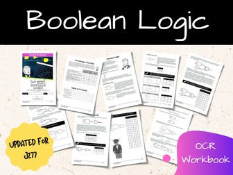 Boolean Logic OCR GCSE Computer Science Workbook (J277)