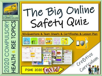 End of year Online Safety Quiz