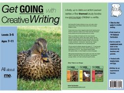 All About Me: Get Going With Creative Writing (and other forms of writing) series (ages 7-11 years)