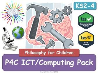 P4C ICT Computing Pack (Philosophy for Children) (X4)