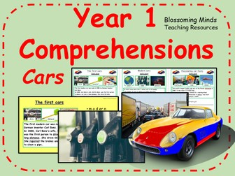 Year 1 comprehensions - Cars