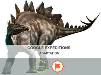 Adaptations #GoogleExpeditions Lesson