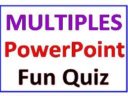 Multiples PowerPoint Fun Quiz