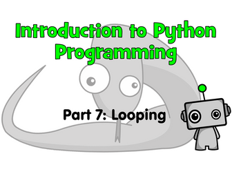Introduction to Python Programming Part 7: Looping