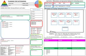 Outstanding Lesson Plan - Template Bundle