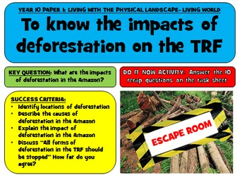 Tropical Rainforest Escape Room