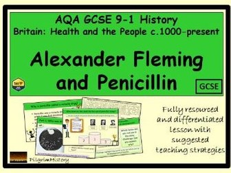 Alexander Fleming and penicillin AQA GCSE 9-1