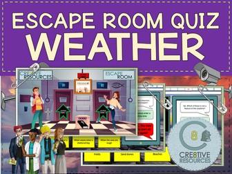 Weather Geography Escape Quiz