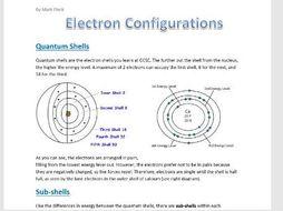 Electron Configuration Booklet