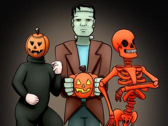 Functional Skills English Writing: Entry Level 3 + Level 1: Halloween