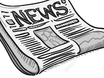 Newspaper Articles: Investigating Format. Edexcel GCSE English Language Paper 1 prep. A05.