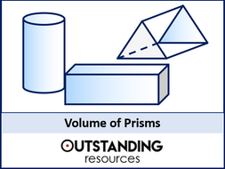 Volume 1 - Volume of Prisms (+ worksheet)