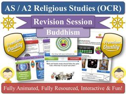 The Four Noble Truths  - AS Revision Session for KS5 OCR RS [ Buddhist Thought ] Path ( Buddhism )