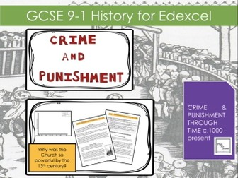 Edexcel GCSE 1-9 Crime and Punishment: Lesson 7 Why was the Church so powerful by the 13th century?