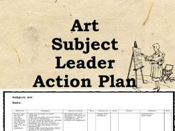 Art Action Plan: 100 Strategies - subject leader, coordinator, strategies for improving art