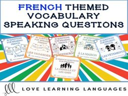 GCSE FRENCH: 30 French speaking questions - La famille et les amis - Friends and family