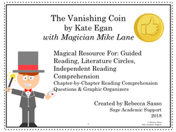 The Vanishing Coin by Kate Egan: Novel Study