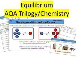 Equilibrium & Le Chatelier's Principle - AQA Chemistry/Trilogy