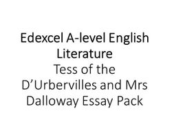 Essay Term Paper Alevel English Lit  Tess Of The Durbervilles And Mrs Dalloway Essay English Essay My Best Friend also Example Of A Thesis Statement For An Essay Alevel English Lit  Tess Of The Durbervilles And Mrs Dalloway  Critical Essay Thesis Statement