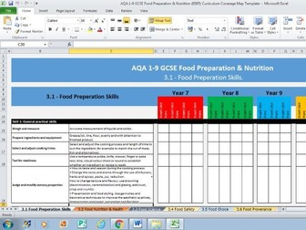 Aqa Mapping Template Bundle Save 17 By 4ddesign Teaching