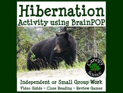 Hibernation Activity using BrainPOP