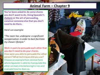 Animal Farm Chapter 9